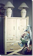 custom wood shop lodgepole pine dresser furniture