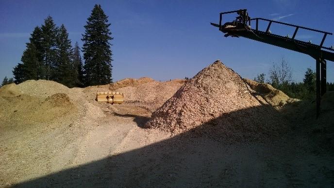 bulk wood chips