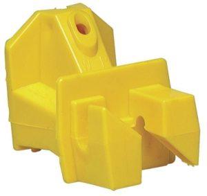 idaho hardware store nail on insulator yellow