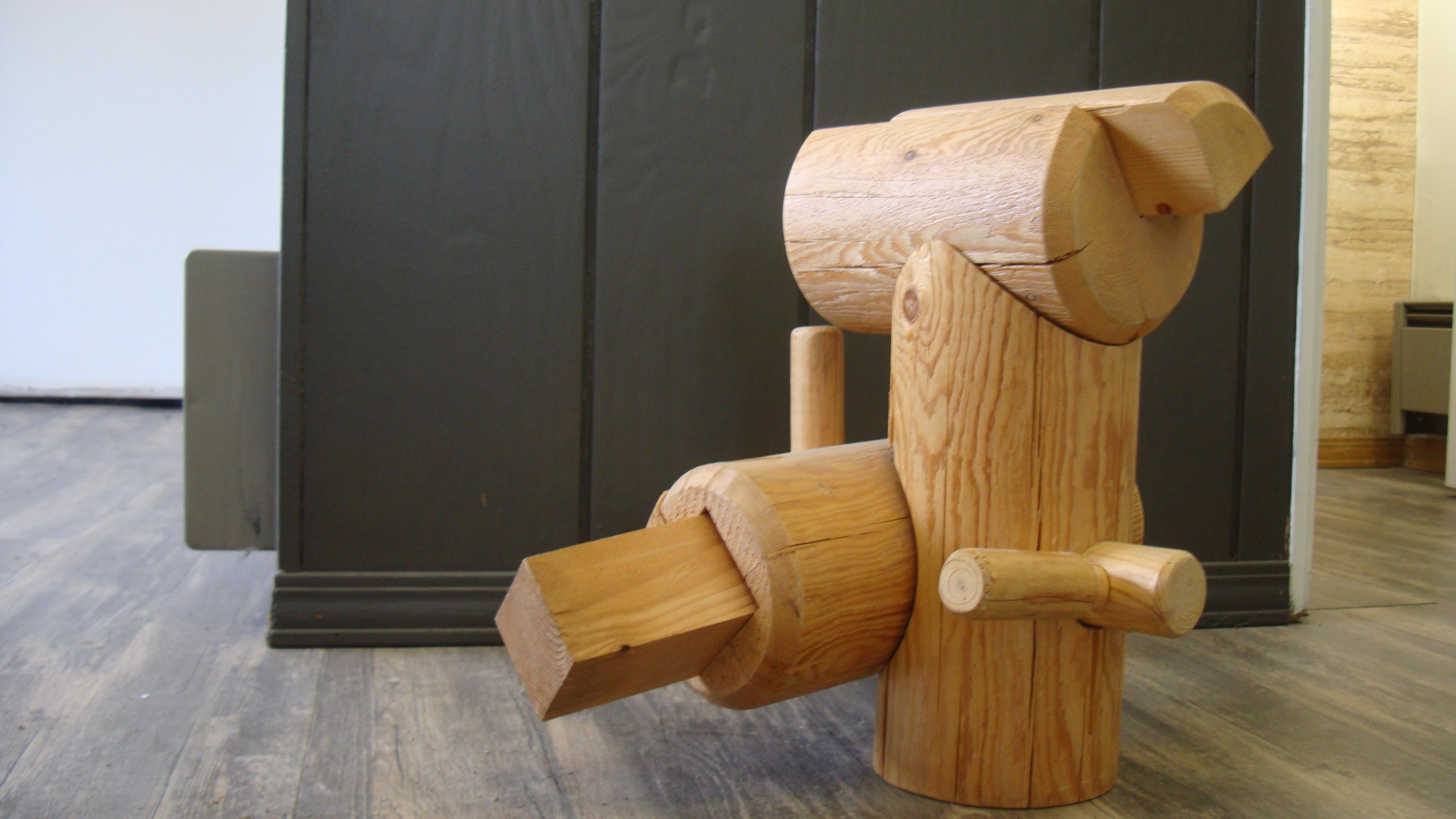 custom wood shop north idaho post and pole example