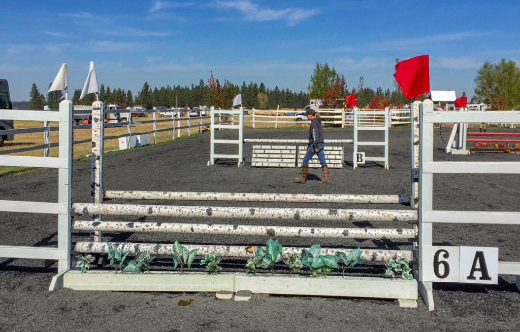 Equestrian lumber provided by North Idaho Post & Pole