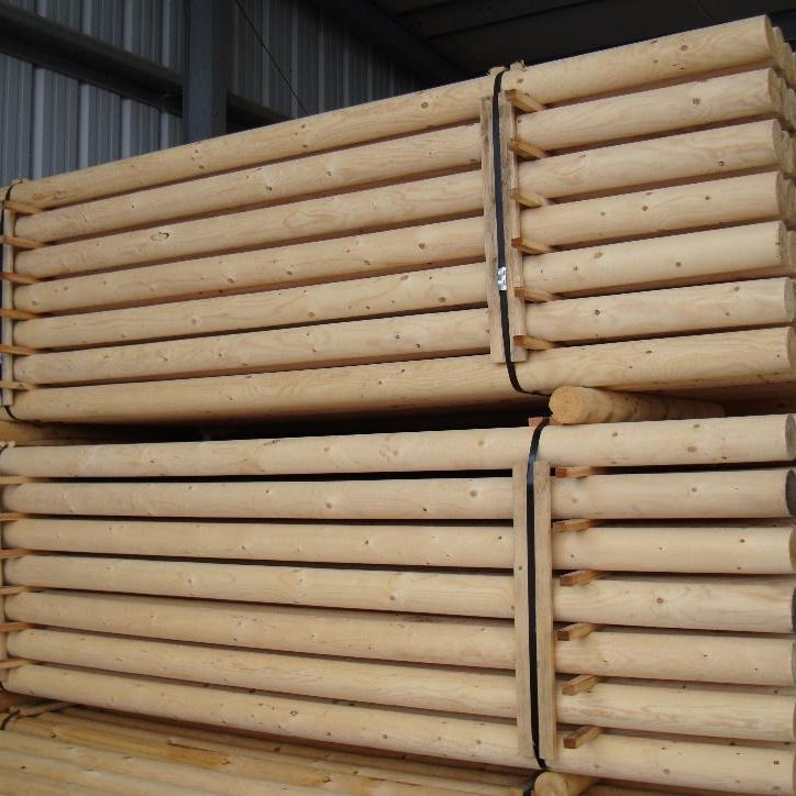 smooth round stock poles bulk