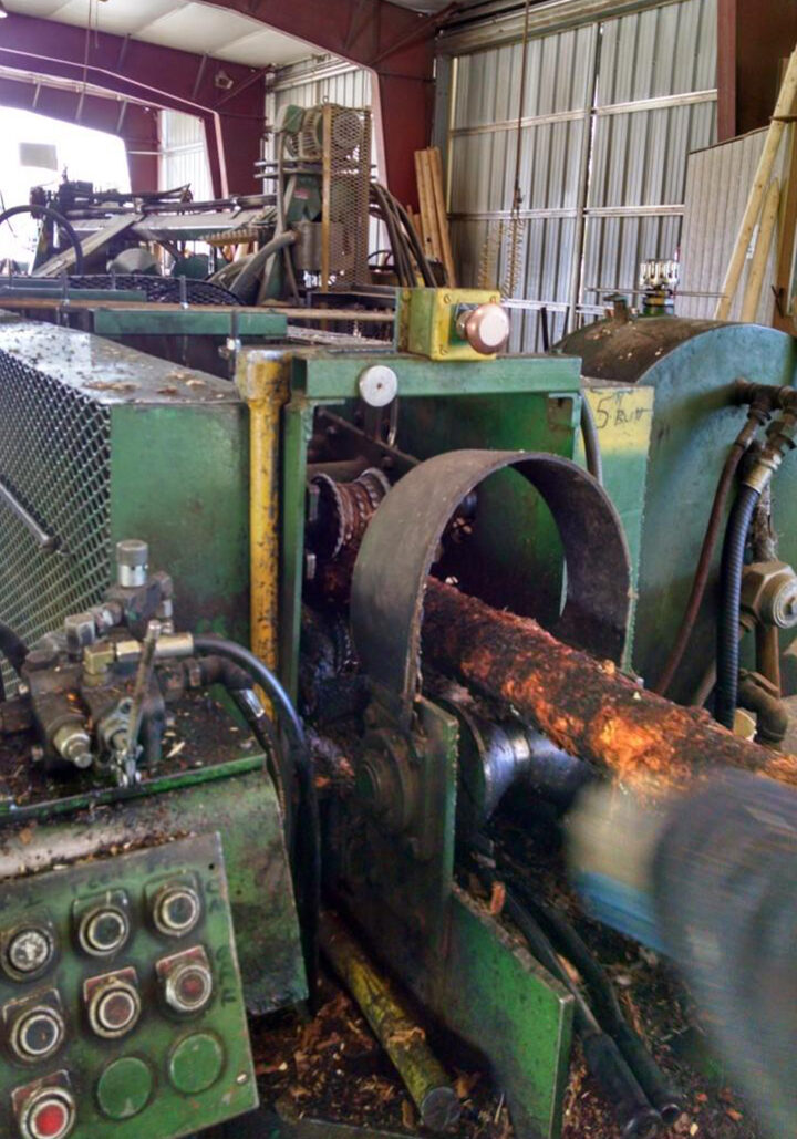 doweling machine processing round stock in hayden idaho