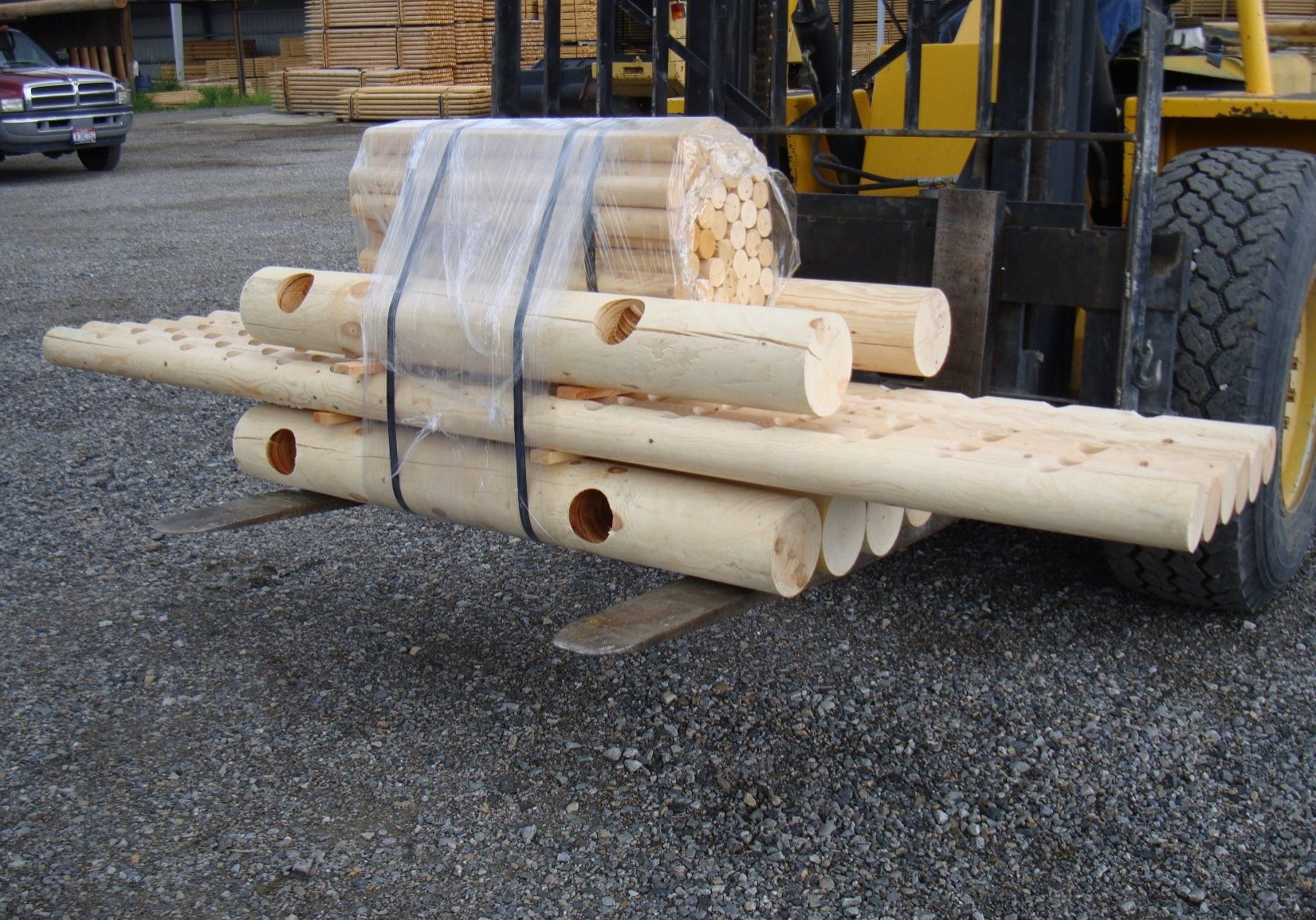 post and pole fencing package kit